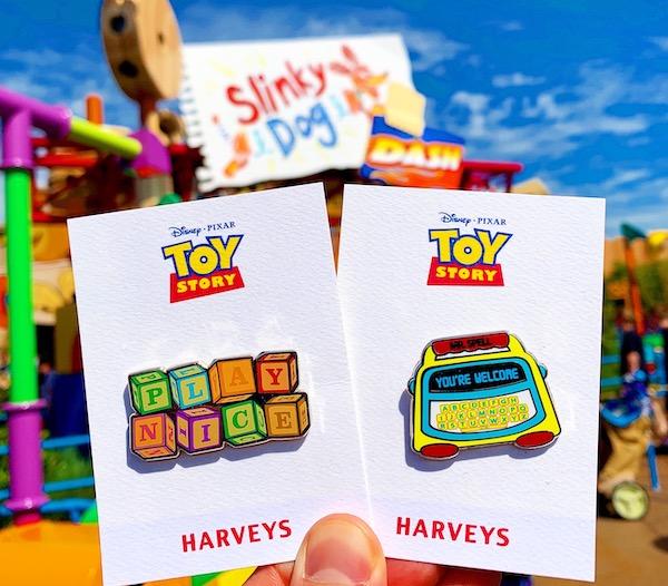 Slinky Dog Dash - Toy Story Harveys Pins