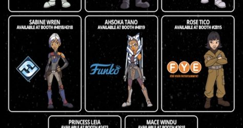 Star Wars Celebration Chicago 2019 Exhibitor Trading Pins