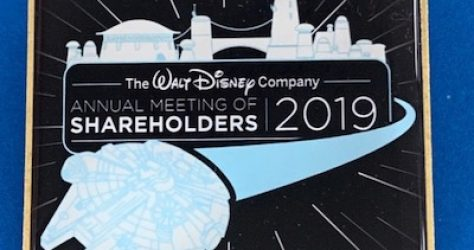 Star Wars Galaxy's Edge Shareholders Pin