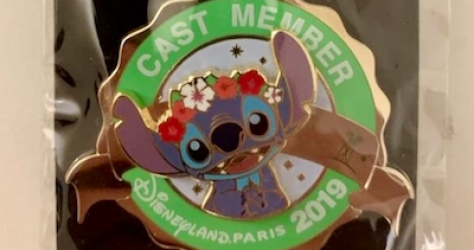 Stitch 2019 Cast Pin