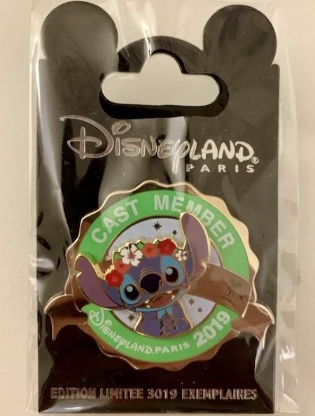 Stitch Cast Member Disneyland Paris 2019 Pin