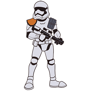 Stormtrooper First Order SWC 2019 Pin