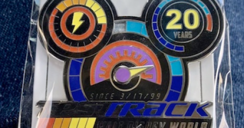 Test Track 20th Pin