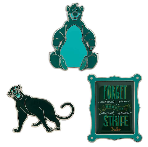 The Jungle Book Disney Wisdom Pins