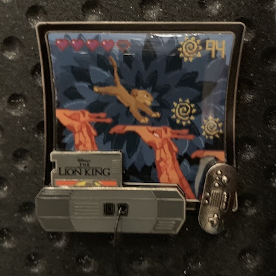 The Lion King Kingdom Consoles Pin