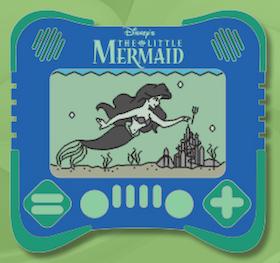 The Little Mermaid I Heart Gaming Disney Pin