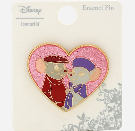 The Rescuers Heart Hot Topic Disney Pin