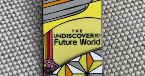 The UnDiscovered Future World Pin