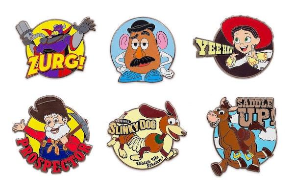 Toy Story 2 Disney Store 2019 Pin Set
