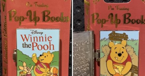 Winnie the Pooh Pin Trading Pop Up Pin