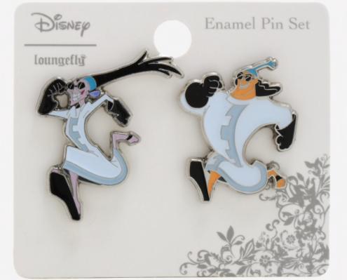 Yzma and Kronk Lab Coat BoxLunch Disney Pin Set