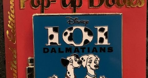 101 Dalmatians Pin Trading Pop Up Pin