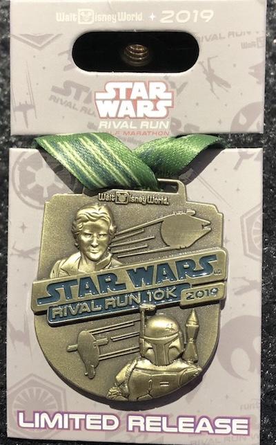 10k Star Wars Rival Run 2019 Medal Pin
