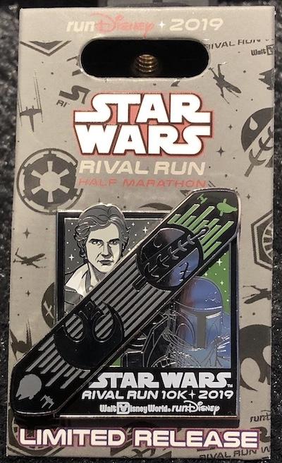 10k Star Wars Rival Run 2019 Pin