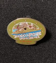20,000 Leagues Under the Sea Pin