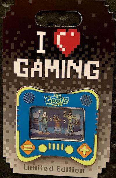 A Goofy Movie I Heart Gaming Disney Pin