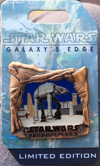 AT-AT Star Wars Galaxy's Edge Countdown Pin