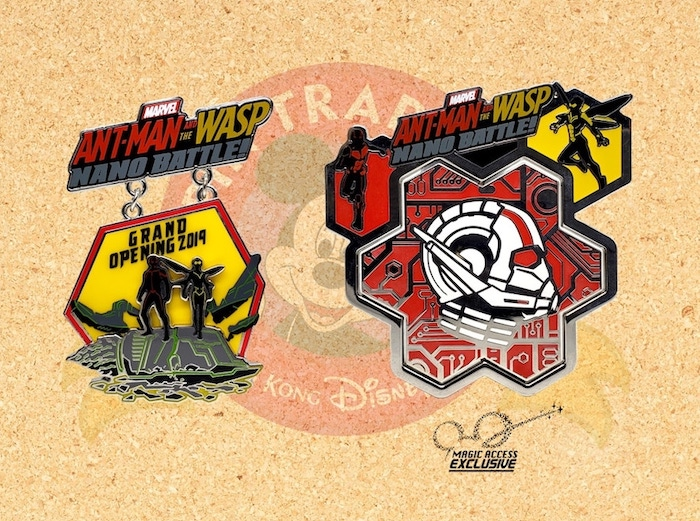 Ant-Man and the Wasp Nano Battle HKDL Pin Releases