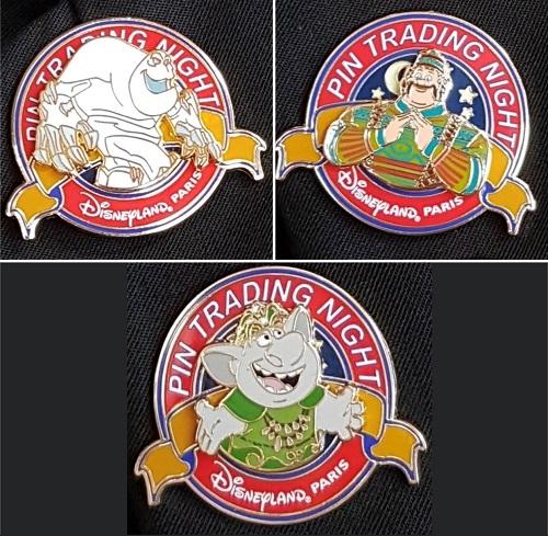 April 2019 Disneyland Paris Pin Trading Night Pins