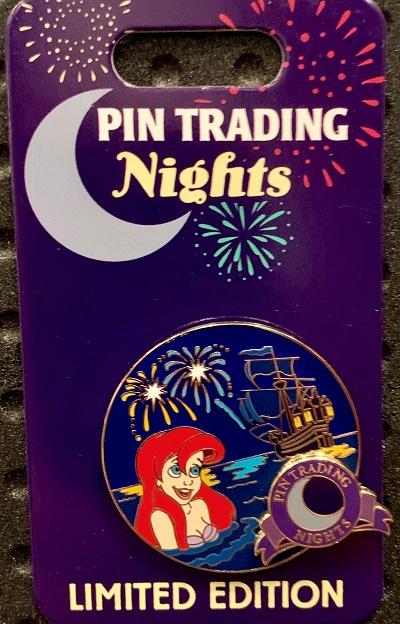 Ariel Pin Trading Nights February 2019