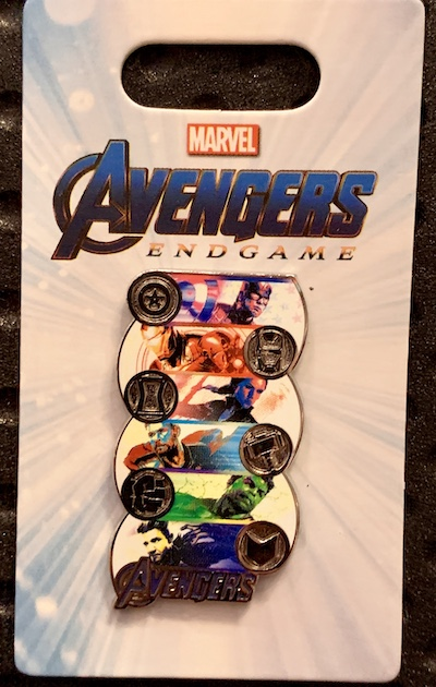 Avengers Endgame Symbol Pin
