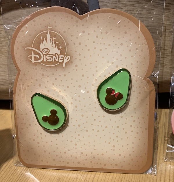 Avocado Toast Disney Pin Set