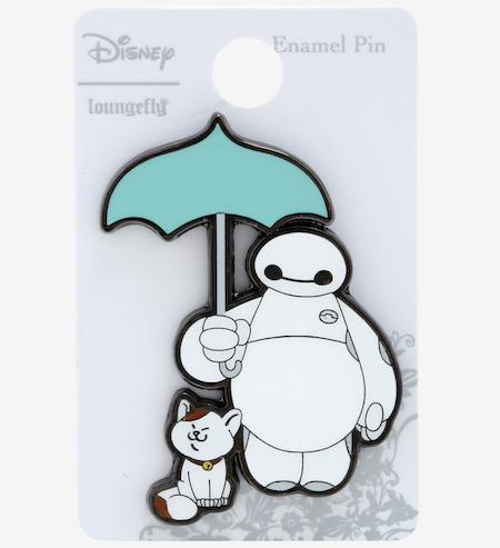 Baymax Umbrella BoxLunch Disney Pin