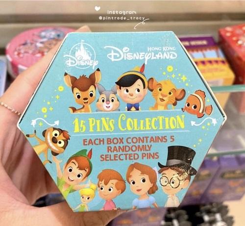 Character Hong Kong Disneyland Mystery Pin Collection