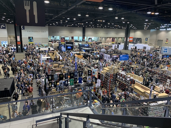 Crowds at Star Wars Celebration 2019