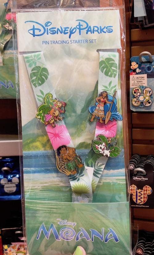 Disney Moana Pin Trading Starter Set