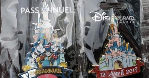 Disneyland Paris 27th Anniversary Pins