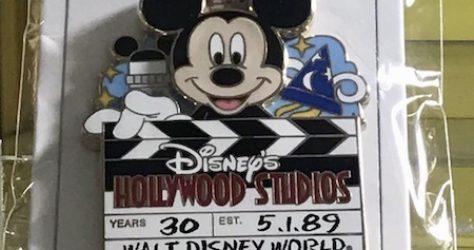 Disney's Hollywood Studios 30th Anniversary Cast Member Pin