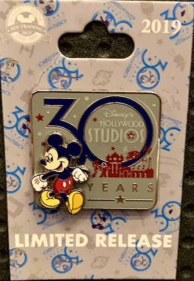Disney's Hollywood Studios 30th Anniversary Logo Pin