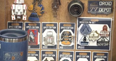 Droid Depot Star Wars Galaxy's Edge Pins
