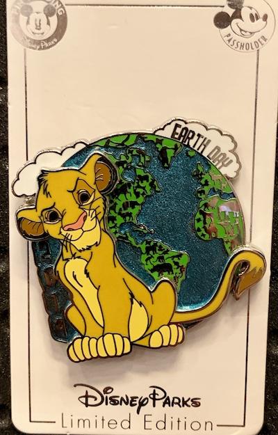Earth Day 2019 Disney Pin