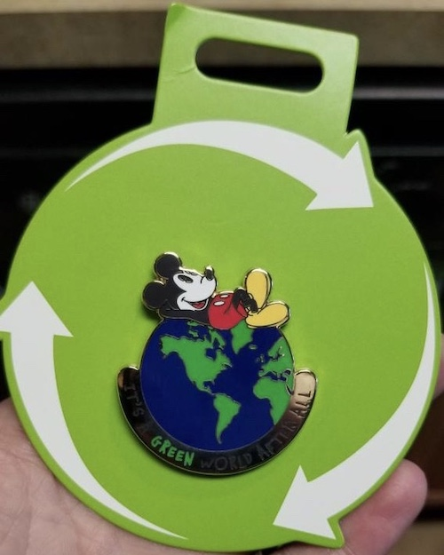 Earth Day 2019 Disney Store Pin