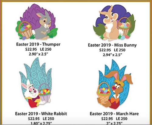 Easter 2019 WDI Pins