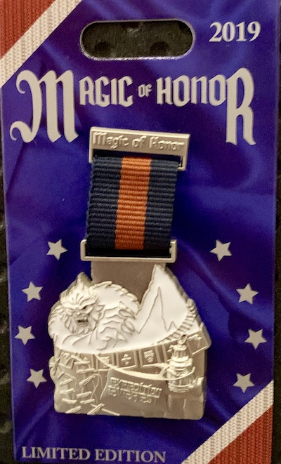 Expedition Everest Magic of Honor Pin