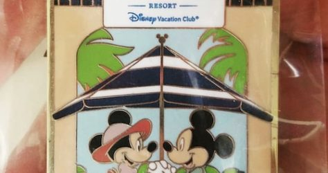 First Disney's Riviera Resort Pin