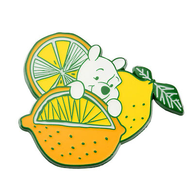 Fresh Lemon Pooh Disney Store Japan Pin