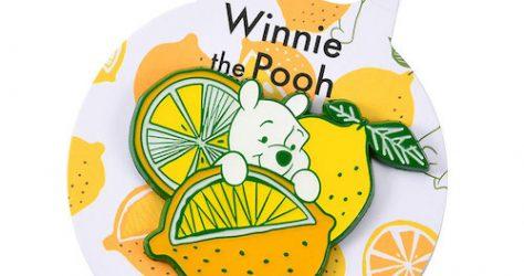 Fresh Lemon Winnie the Pooh Disney Pin