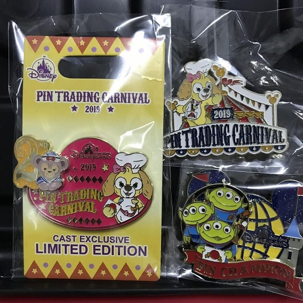 Game Disney Pins - Pin Trading Carnival 2019