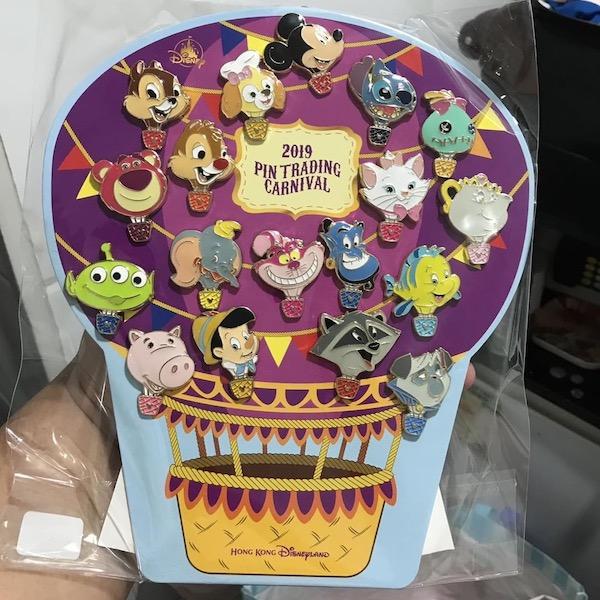 Hot Air Balloon 2019 Pin Trading Carnival Pin Set