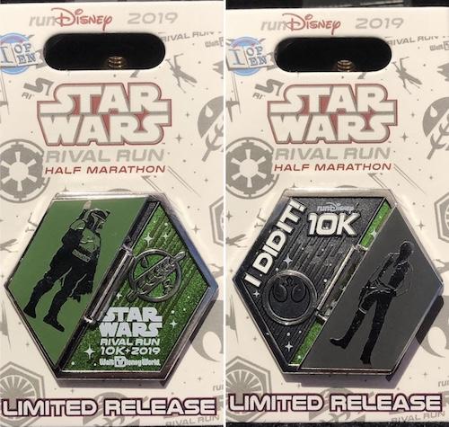 I Did It 10k Star Wars 2019 Pin