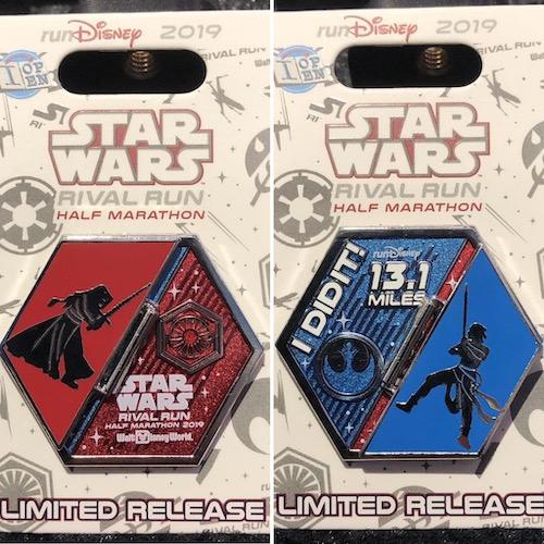 I Did It Half Marathon Star Wars 2019 Pin