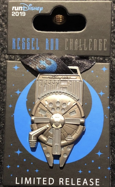 Kessel Run runDisney 2019 Star Wars Medal Pin