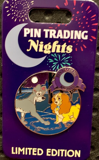 Lady and the Tramp Pin Trading Nights May 2019