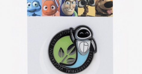 Loungefly Disney Pixar WALL-E EVE Enamel Pin