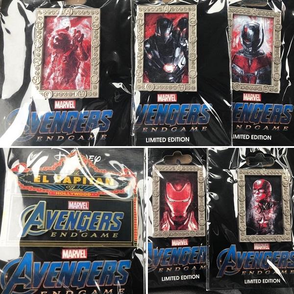 Marvel Avengers Endgame DSSH Pins