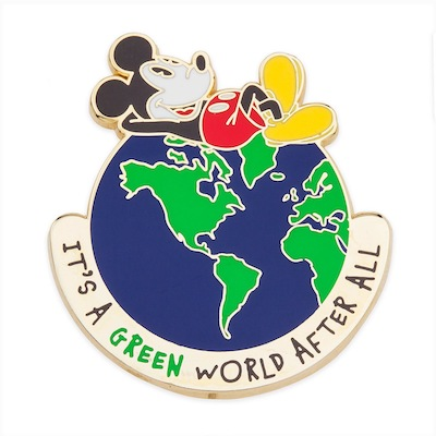 Mickey Mouse Earth Day Pin 2019
